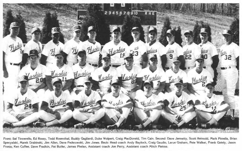 1989 UConn Baseball Team